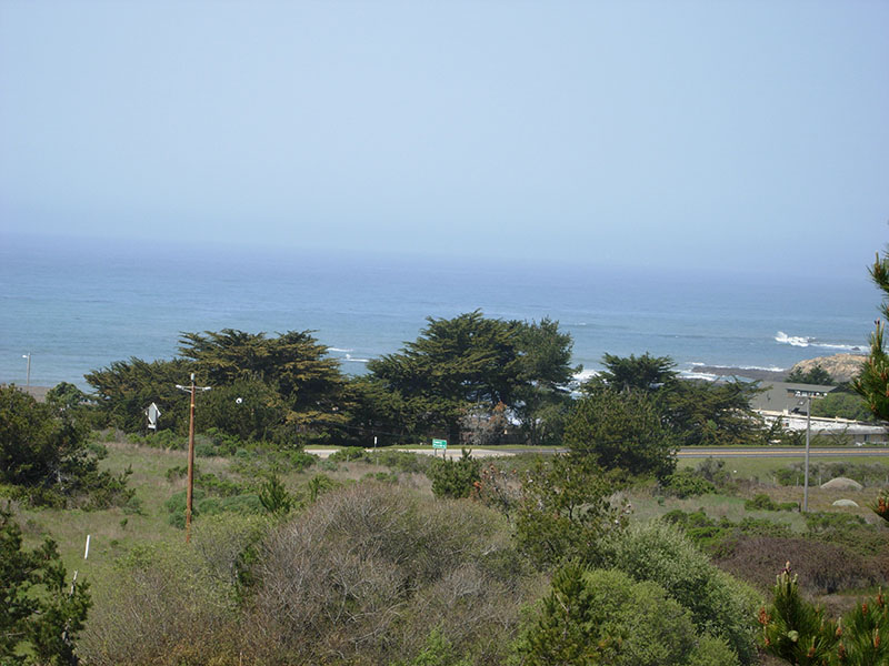 White Water view lot in Cambria California